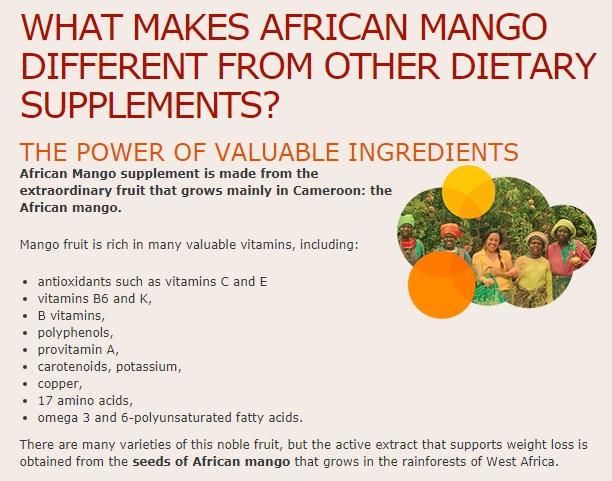 Mango Wirkung